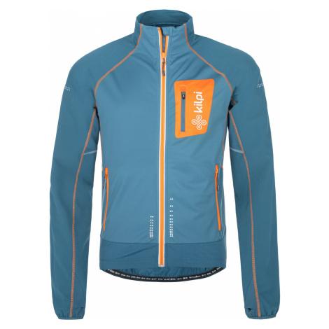 KILPI Pánská běžecká bunda NORDIM-M NM0055KIBLU Modrá