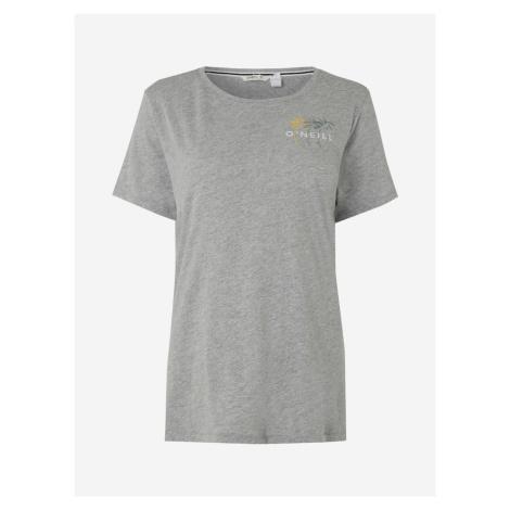 Tričko O'Neill Lw Doran T-Shirt Šedá
