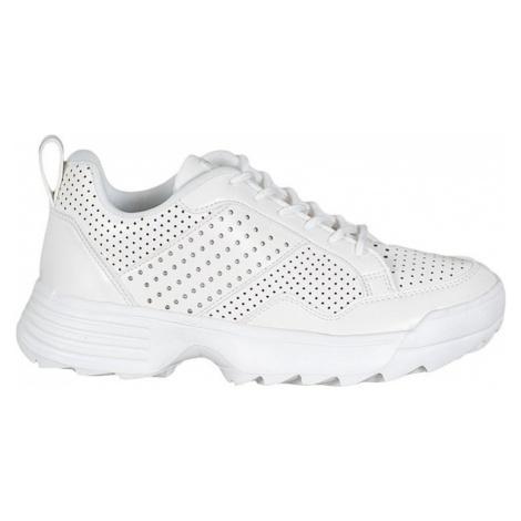 Bílé lehké ažurové sneakersy Kylie