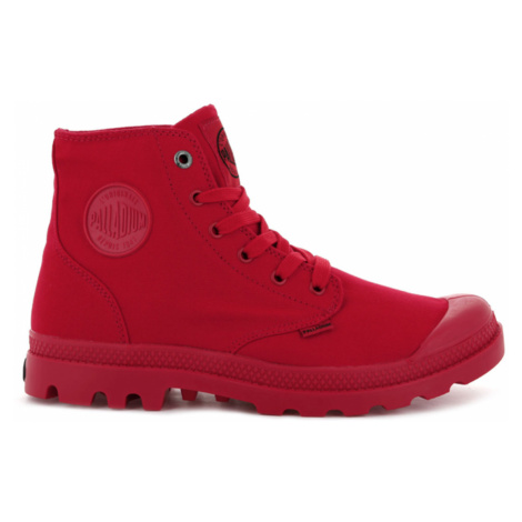 Palladium Boots Pampa Monochrome Red červené 73089-600-M