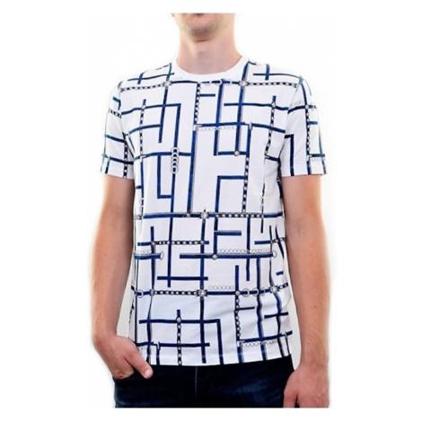 VERSACE COLLECTION pánské tričko s barevnou aplikací