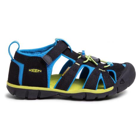 sandály Keen Seacamp II Black/brilliant blue K (CNX)