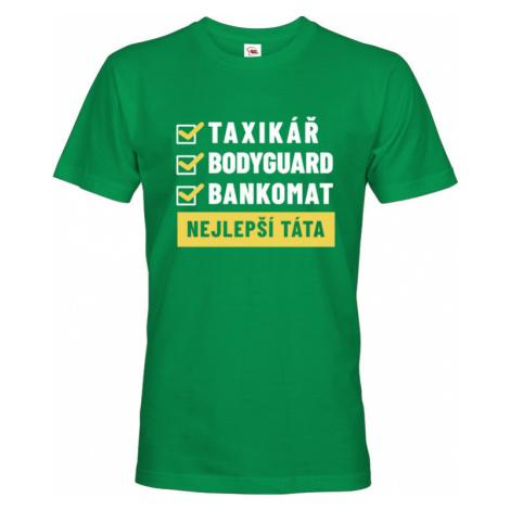 Pánské tričko Nejlepší táta - ideální dárek pro tátu či tatínka BezvaTriko