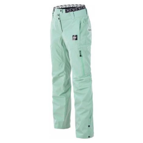 Picture EXA zelená - Dámské zimní kalhoty