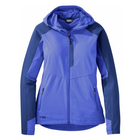 dámská bunda Outdoor Research Women's Ferrosi Hooded Jacket, Batik/Baltic