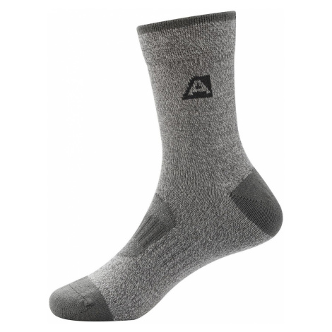 ALPINE PRO RAPID 2 Dětské ponožky KSCS010779 tmavě šedá