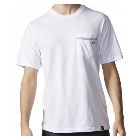 Tričko Adidas Aeroknit Pocket white
