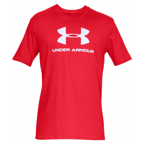 Tričko Under Armour Sportstyle Logo - červená