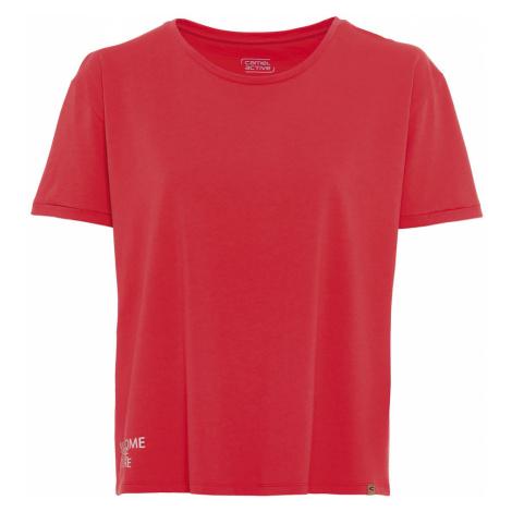 Tričko Camel Active T-Shirt - Červená