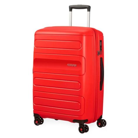 American Tourister Cestovní kufr Sunside 51G EXP 72,5/83,5 l - červená