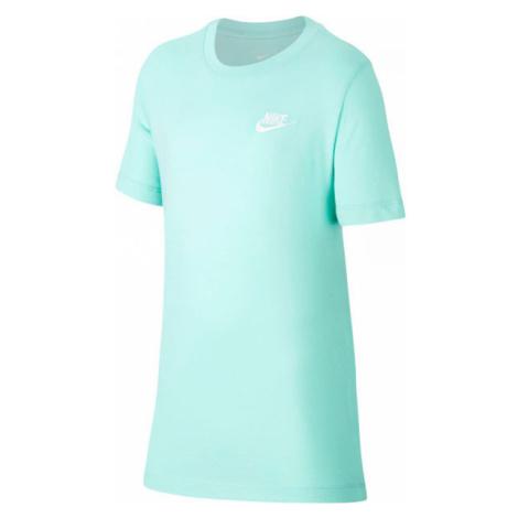 Nike NSW TEE EMB FUTURA B zelená - Chlapecké tričko