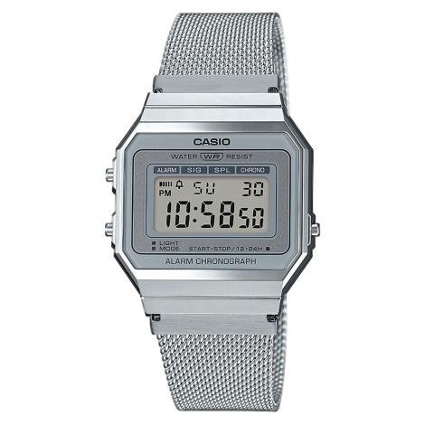 Casio A 700WEM-7AEF stříbrné