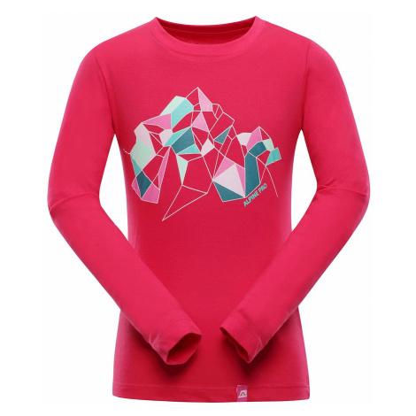 Dětské triko Alpine Pro LEMKO - růžová