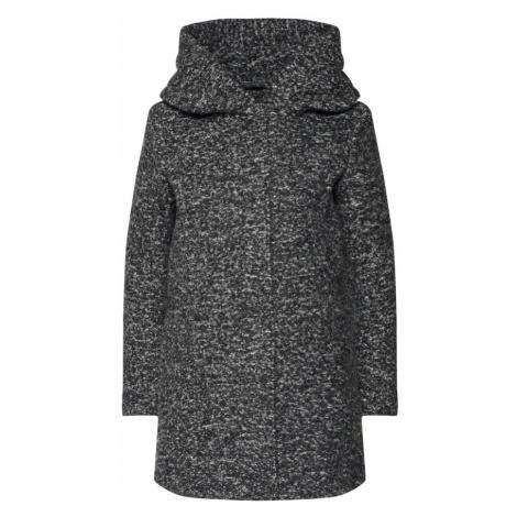 ONLY Přechodný kabát šedý melír