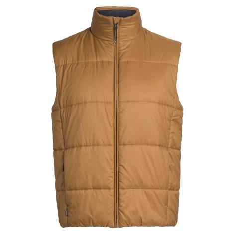 ICEBREAKER Mens Collingwood Vest, TAWNY Icebreaker Merino