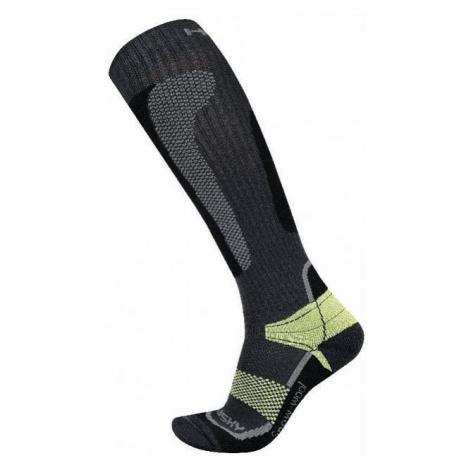 Ponožky HUSKY Snow Wool zelená L (41-44 EU)