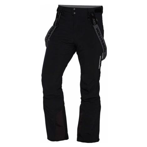 NORTHFINDER TODFY Pánské lyžařské kalhoty NO-3651SNW269 černá