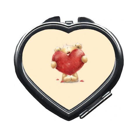 Zrcátko srdce Teddy with heart