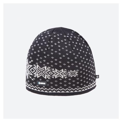Kama A 128-110 pletená merino čepice černá