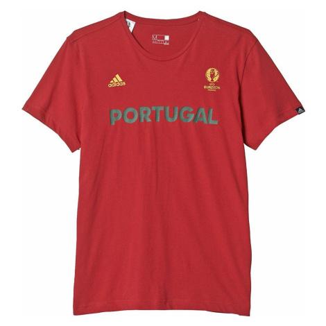 Tričko adidas Portugal Euro Červená