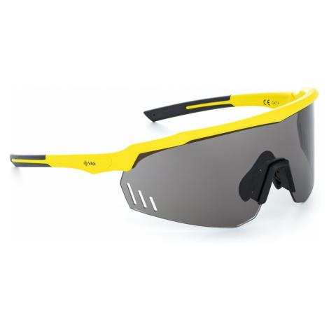 Unisex sluneční brýle KILPI LECANTO-U žlutá