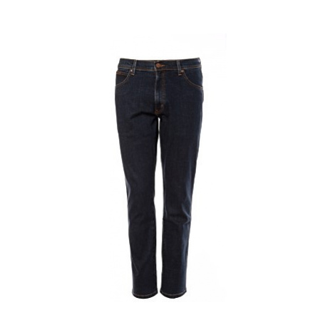 Wrangler jeans Texas Slim Cross Game pánské tmavě modré