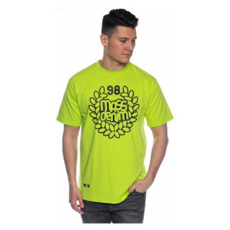 Mass Denim Base T-shirt toxic yellow