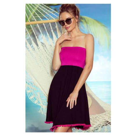 Plážová tunika Sandy pink Eldar