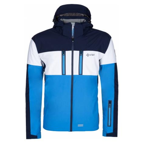 KILPI Pánská lyžařská bunda FALCON-M LM0037KIBLU Modrá