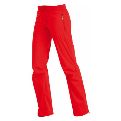 LITEX Kalhoty dámské dlouhé bokové. 99570306 červená