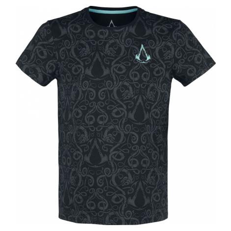Assassin's Creed Valhalla - Nordic Tričko černá