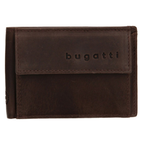 Pánská kožená dolarovka Bugatti Mauric - hnědá