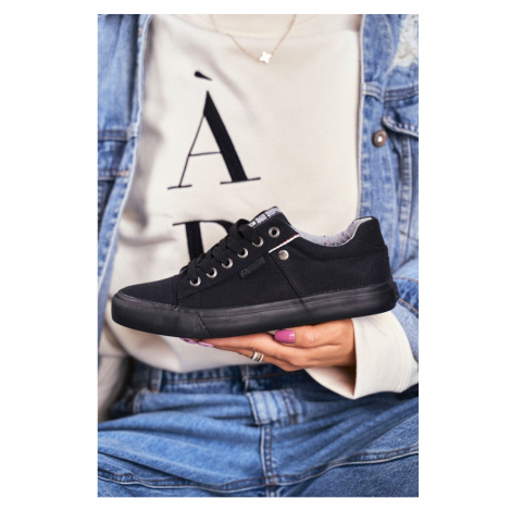 Women's Sneakers Big Star Black AA274512 Kesi