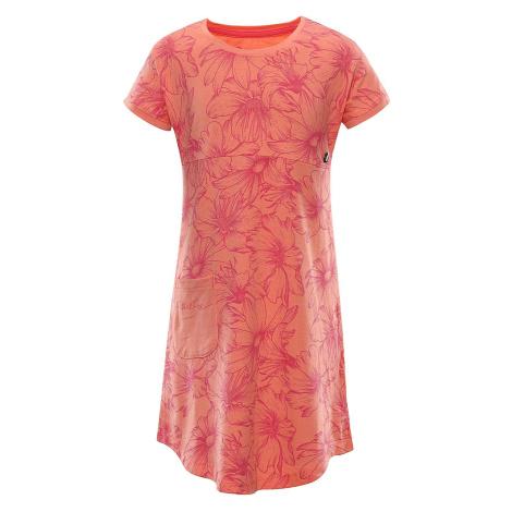 Dětské letní šaty Alpine Pro TERESO - oranžová