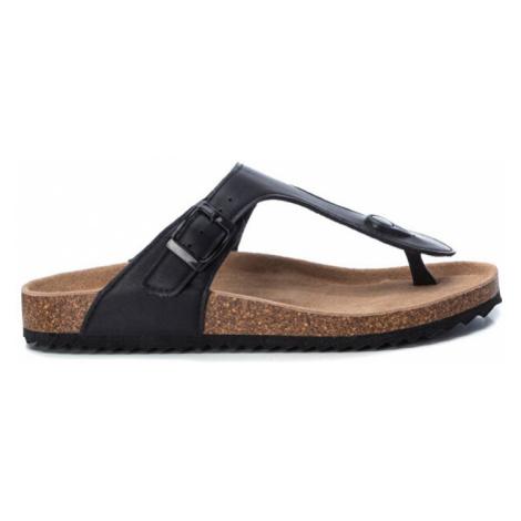XTi Dámské žabky Black Pu Ladies Sandals Black