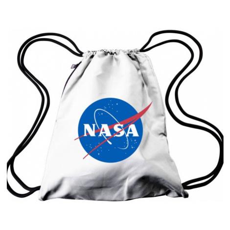 NASA Gym Bag - white Urban Classics