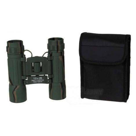 Binokulární dalekohled MFH® univerzální 10x 25 - woodland Max Fuchs