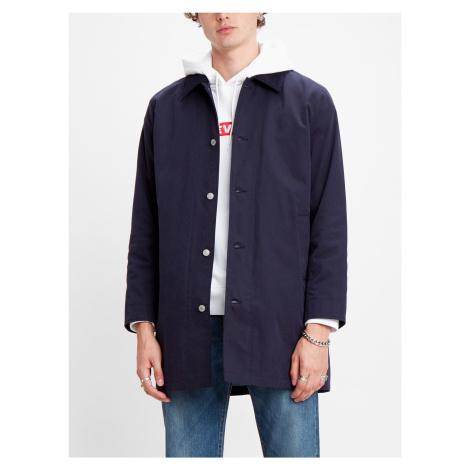 Košile LEVI'S Long Utility Coat Nightwatch Blue Modrá Levi´s