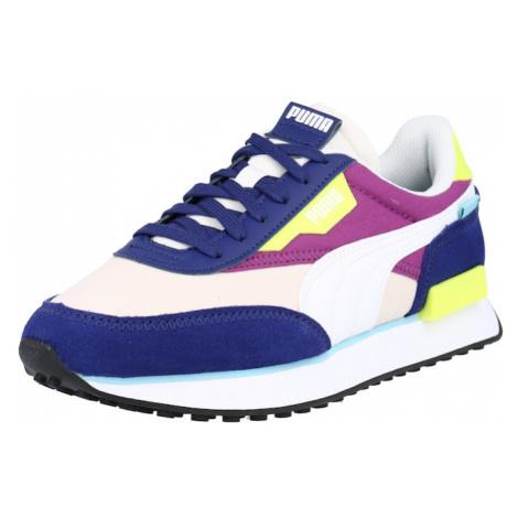 PUMA Tenisky 'RIDER PLAY ON' bílá / modrá / žlutá / světle růžová / tmavě fialová