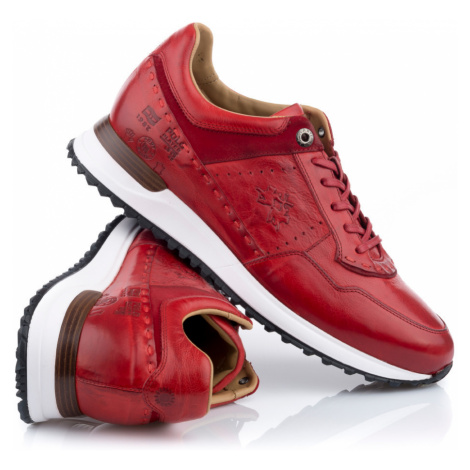 Tenisky La Martina Man Shoes Todi - Červená