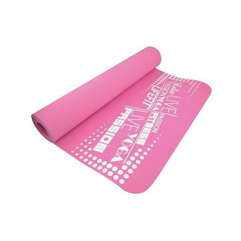 Lifefit Yoga Mat TPE růžová