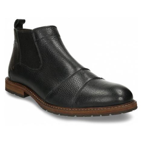 Pánská kožená Chelsea obuv černá Baťa