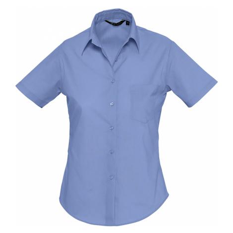 SOLS Dámská košile ESCAPE 16070230 Mid blue SOL'S