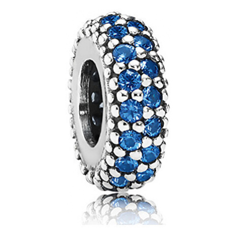 Pandora Stříbrný korálek s kamínky 791359NCB