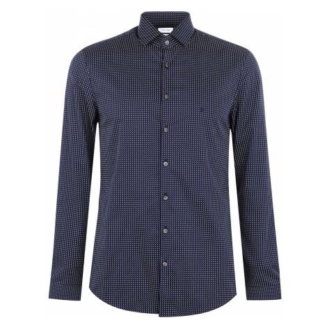 Calvin Klein Patterned Slim Fit Shirt