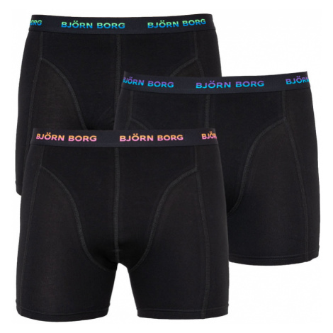 3PACK pánské boxerky Bjorn Borg černé (2011-1003-60601)