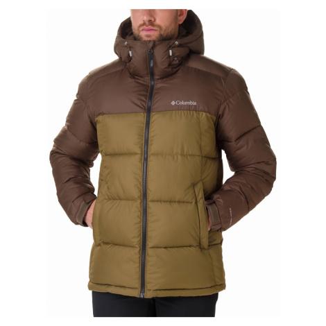 Bunda Columbia Pike Lake™ Hooded Jacket - hnědá