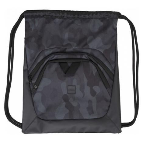 Ball Gym Bag - black/dark camo/black Urban Classics