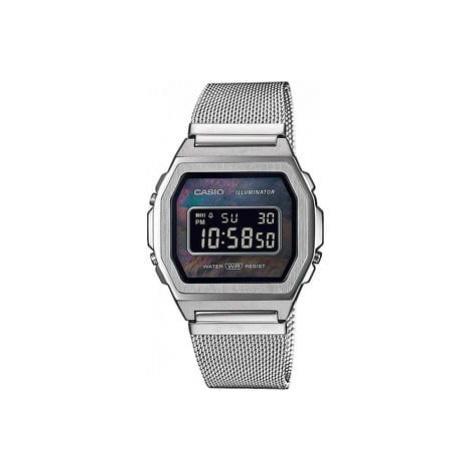 "Casio A1000M-1BEF ""Vintage Premium"" stříbrné"