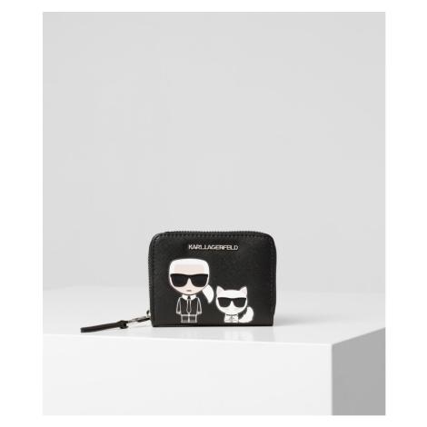 Peněženka Karl Lagerfeld K/Ikonik Sm Folded Zip Wallet
